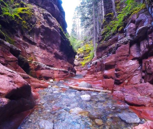 Red Rock Canyon – Waterton