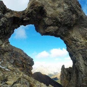 Mount Tyrwhitt Rock Arch - Kananaskis