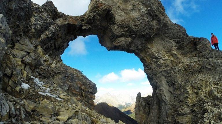 Mount Tyrwhitt Rock Arch – Kananaskis