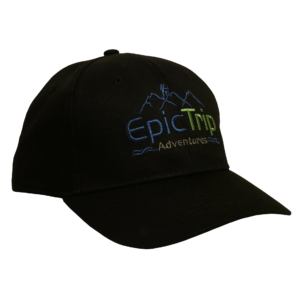 Black Baseball Cap - Epic Trip Adventures