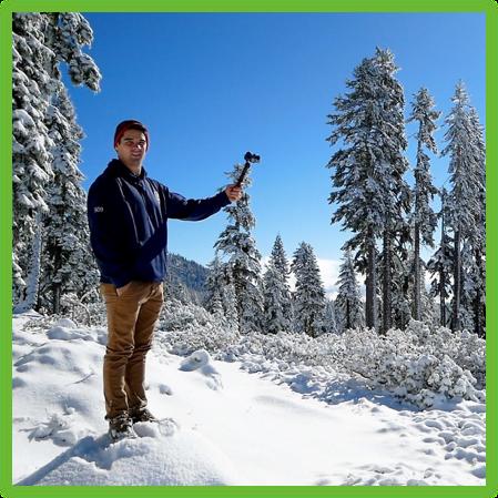Anderson on Mount Shasta - California - Epic Trip Adventures