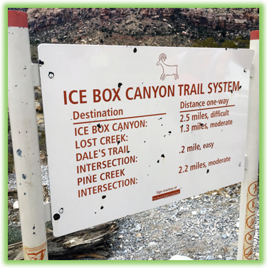 Ice Box Canyon - Red Rock Canyon - Epic Trip Adventures