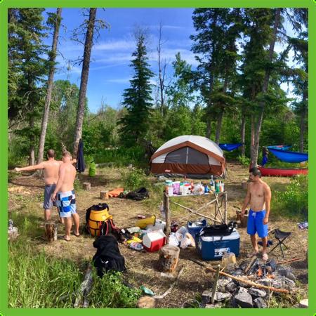 Camping on the Churchill River - Saskatchewan- Epic Trip Adventures