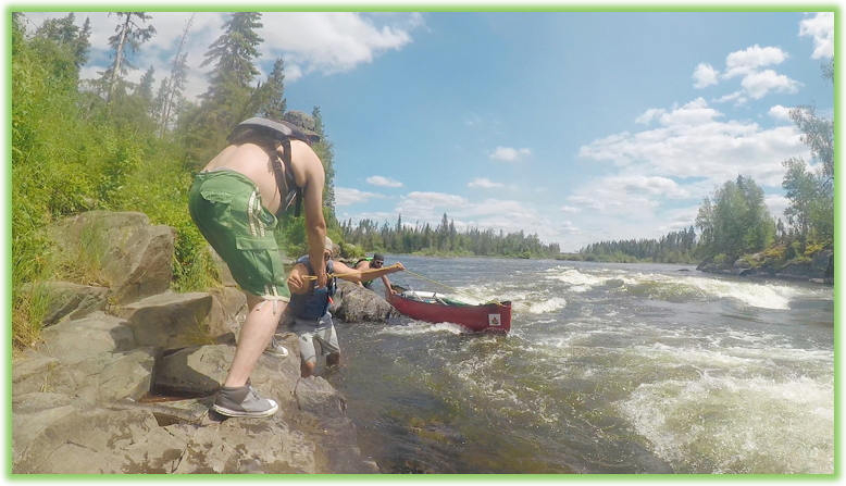 Lining up the Churchill River - Saskatchewan- Epic Trip Adventures