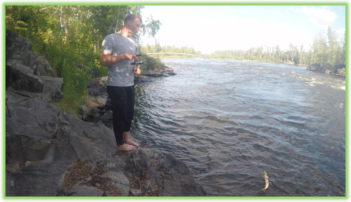 Fishing on the Churchill River - Saskatchewan- Epic Trip Adventures