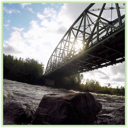 Otter Rapids Bridge - Saskatchewan- Epic Trip Adventures