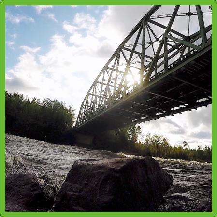 Otter Rapids Bridge - Saskatchewan- Epic Trip Adventures