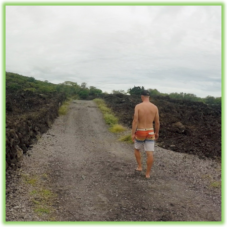 The trail to End Of The World - Hawaii Big Island - Epic Trip Adventures