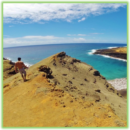 Green Sand Beach - Hawaii Big Island - Epic Trip Adventures