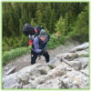 Climbing Ribbon Falls - Kananaskis - Epic Trip Adventures