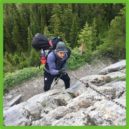 Climbing Ribbon Falls - Kananaskis - Epic Trip Adventures