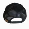 Black Leather Patch Snapback Hat Back - Epic Trip Adventures