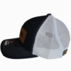 Navy Leather Patch Snapback Hat Side - Epic Trip Adventures