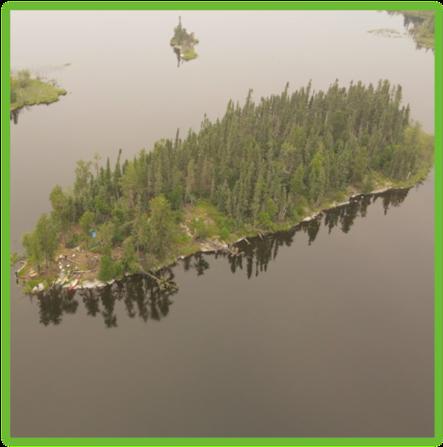 Churchill River Campsite - Saskatchewan - Epic Trip Adventures