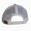 Grey Leather Patch Snapback Hat Back - Epic Trip Adventures
