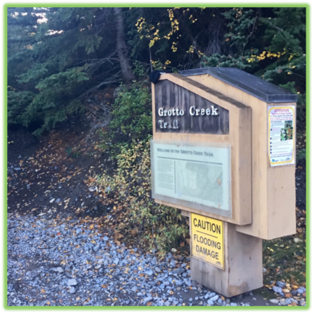 Grotto Canyon Trailhead- Canmore - Epic Trip Adventures