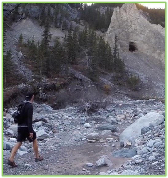 Grotto Canyon Cave- Canmore - Epic Trip Adventures