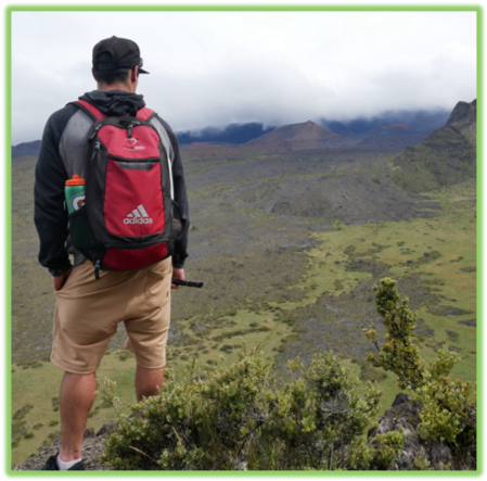 Anderson Overlooking Haleakala Crater - Maui - Epic Trip Adventures