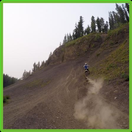 McLean Creek Dirt Biking - Kananaskis - Epic Trip Adventures