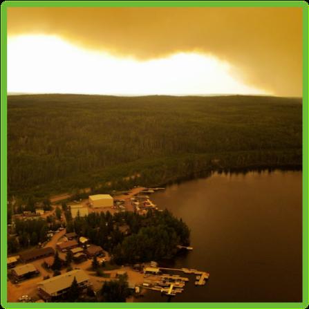 Missinipe Forest Fire - Saskatchewan - Epic Trip Adventures