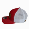 Red Leather Patch Snapback Hat Side - Epic Trip Adventures