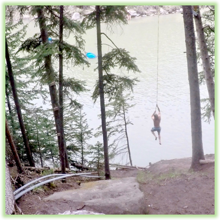 Calgary Rope Swing - Calgary - Epic Trip Adventures