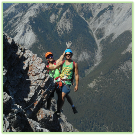 Mt Norquay Via Ferrata - Banff - Epic Trip Adventures