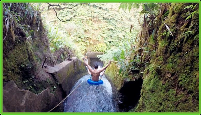 White Road Waterslide - Hawaii Big Island - Epic Trip Adventures