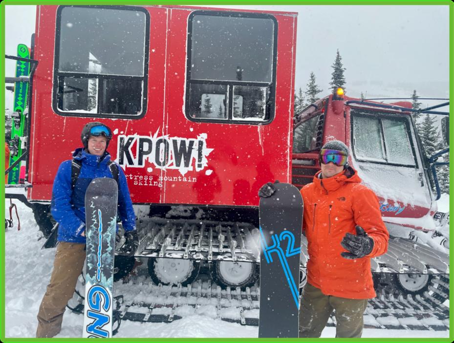 KPOW Cat Skiing - Kananaskis - Epic Trip Adventures